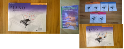 Piano Lesson books  9 books in total in Aurora, Illinois
