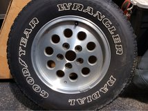 1994 Jeep Cherokee rim with tire. in Naperville, Illinois