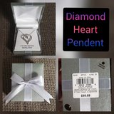 Diamond Heart Pendent in Nellis AFB, Nevada