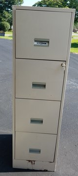 Four-Drawer Locking File Cabinet in Fort Knox, Kentucky