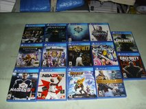 14 playstation 4 games in Fort Knox, Kentucky