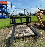 """Armstrong Double Slide Bar Pallet Fork 48"""" in Houston, Texas"""