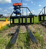 """Armstrong Double Slide Bar Pallet Fork 48"""". in Houston, Texas"""