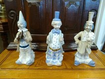 Clown Ceramic Figurines in Bartlett, Illinois