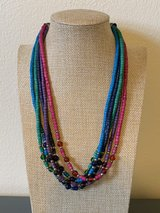 Colorful MultiStrand Necklace in Okinawa, Japan