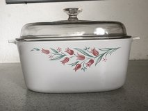 Big Casserole Dish with Glass Lid in Ramstein, Germany
