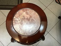 Vintage Chinese Hand Carved Pedestal Table in Houston, Texas
