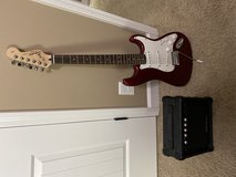 Squire Strat and Amp in Fort Campbell, Kentucky