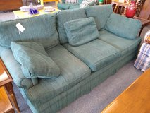 Green Sofa in Bartlett, Illinois