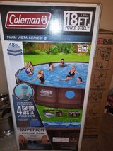 18 ft x 48 coleman pool in Fort Knox, Kentucky