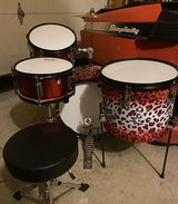 Custom Kids 4 pc. Drum Set / Kit in Aurora, Illinois