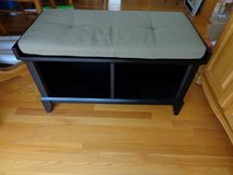 Bench seat with storage in Naperville, Illinois