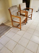 59 inches long kitchen table and chair set. in Yucca Valley, California