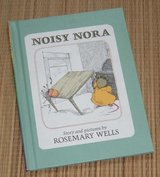 Vintage 1979 Noisy Nora Hard Cover Book Childrens Choice Book Club in Chicago, Illinois