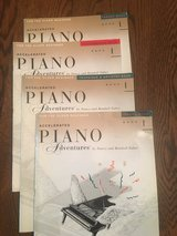 Accelerated Piano Adventures Instruction Books (set of 4) in Bartlett, Illinois