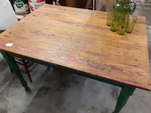 Country Pine Kitchen Table in Camp Lejeune, North Carolina