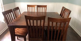 kitchen table 8 chairs in Camp Lejeune, North Carolina