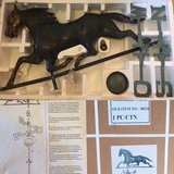 Copper Horse Weather Vane - New in Ramstein, Germany