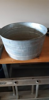 Galvanized tub in Fort Campbell, Kentucky