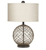 Modern Farmhouse table lamp in excellent condition in Alamogordo, New Mexico