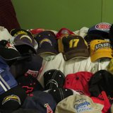 Collection of Hats in Yucca Valley, California