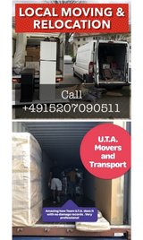 LOCAL MOVING RELOCATION PICK UP AND DELIVERY TRANSPORTATION in Wiesbaden, GE