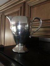 Vintage Silverplate Water Pitcher by Sheets Rockford 1875 Silver Company in St. Charles, Illinois