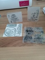 Sizzix dies, embossing folders & stamps in Lakenheath, UK
