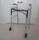 Adjustable Rolling, Folding Walker in Tomball, Texas
