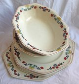 English vintage tableware set by Johnson Brothers in Okinawa, Japan