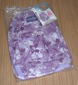 "New w Tags in Pkg Purple Floral 17"" Backpack School Book Bag by Outdoors Travelers Club in Yorkville, Illinois"