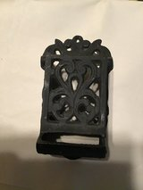 Vintage cast iron match stick holder in Fort Campbell, Kentucky