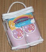 NEW Care Bears RARE Pink Slipper Footlets Girls 12-18 Months American Greetings in Chicago, Illinois