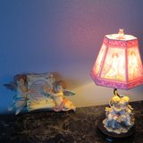 Angel Lamp and Serenity Wall hanging in Yucca Valley, California