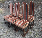 set of 6 antique chairs sturdy and comfortable in Stuttgart, GE