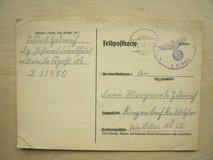 WWII German Booklet for Insurance Payments in Wiesbaden, GE