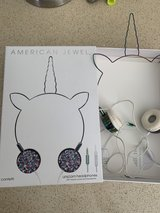 Unicorn Headphones - Wire Frame Headset with Volume Control and Microphone - confetti  by ... in Plainfield, Illinois