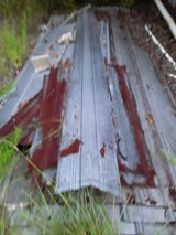 Used Roofing Tin in Fort Polk, Louisiana