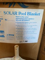 Solar Pool cover 21ft round in Plainfield, Illinois