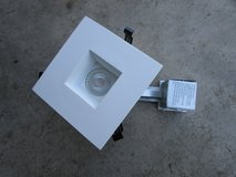 "Lithonia Lighting 4"" Recessed Square White LED Gimbal kit in Naperville, Illinois"