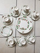 Christmas dishes in Orland Park, Illinois