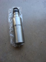 "9  "" TALL 2 3/4 "" DIAMETER STAINLESS STEEL DRINK BOTTLE in Chicago, Illinois"