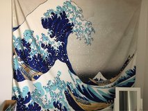 The Great Wave Kanagawa Tapestry in Chicago, Illinois
