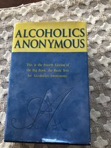 Alcoholics Anonymous Hardcover Book in Plainfield, Illinois