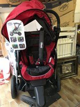 Chicco ACTIV3 jogging stroller (new, but with broken handle part) in Spangdahlem, Germany