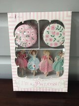 NEW IN BOX Cupcake Kit for Girls - I'm a Princess (24 Liners & Toppers) in St. Charles, Illinois
