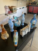 Aged Whiskey Bottles in Fort Campbell, Kentucky