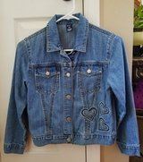 Girls Gap Denim Jacket, Size 10 in Clarksville, Tennessee