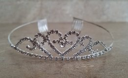 Silver and Rhinestone Tiara in Clarksville, Tennessee