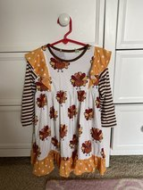 Thanksgiving Dress -4T in Chicago, Illinois